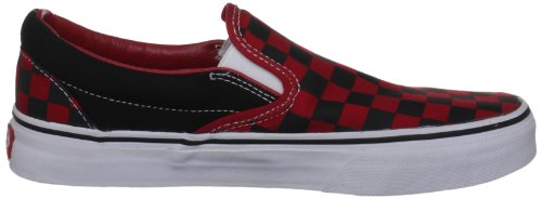 U adulte Checkerboard mixte Baskets Slip Vans Black mode on Formula Noir One Classic d4qxCw0w7O