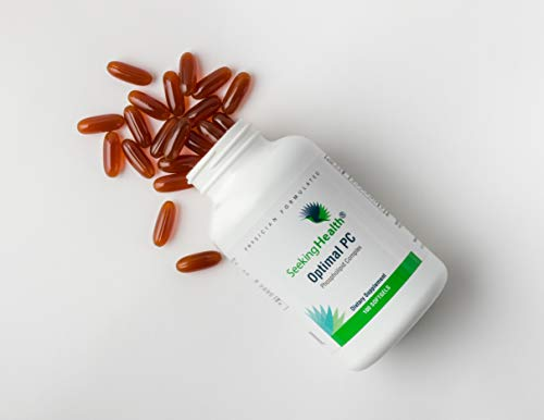 Seeking Health | Optimal PC Supplement | 100 Softgels of 800 mcg Blended Phospholipid Complex | Made from Non-GMO Sunflower Lecithin | Phospholipid Supplement by Seeking Health (Image #4)
