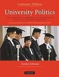University Politics, Gordon Johnson and Francis Macdonald Cornford, 0521897890