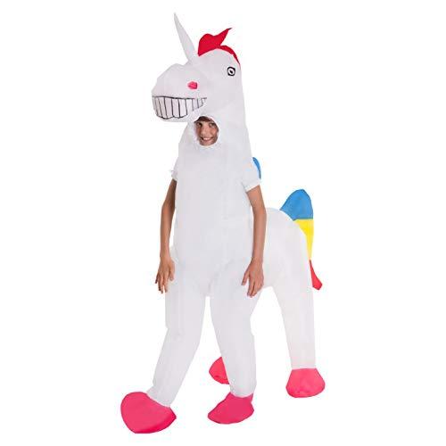 Halloween Fancy Dress Escape (Kids Unicorn Giant Inflatable Costume Blow Up Fancy Dress Costumes Boys &)