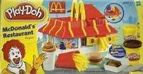 McDonald's Restaurant Playshop Play-Doh Playset