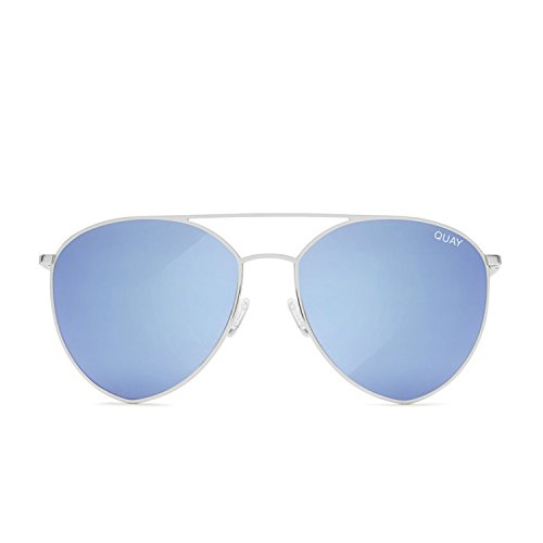 Quay Australia INDIO Women's Sunglasses Jasmine Aviator Teardrop - - India Shop