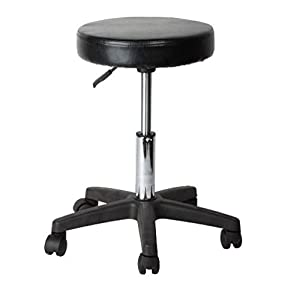 Round Adjustable Stool for Salon/Cafeteria/Kitchen