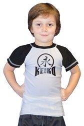 KID'S COMP TEAM RASHGUARD S/S - BLACK - 14