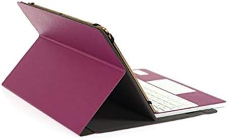 CoastaCloud Clavier AZERTY Bluetooth 3.0 Étui Housse pour Tout système Windows Android Tablette PC 9.0-10.6 Pouces Touchpad Tactile