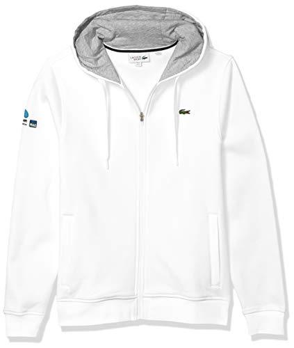 Lacoste Men's Sport Miami Open Full-Zip Hoodie Sweatshirt