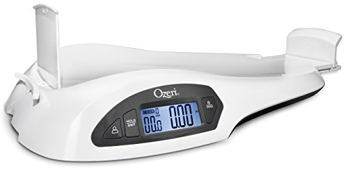 Ozeri All-in-One Baby and Toddler Scale - with Weight and Height Change Detection ()