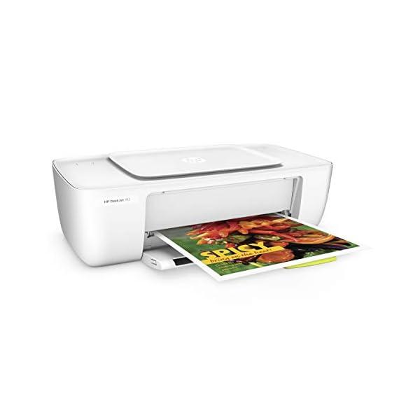 HP DeskJet 1112 Single Function Inkjet Colour Printer 4