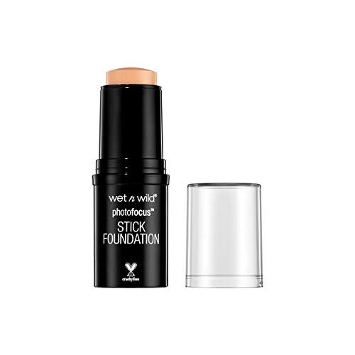 wet n wild Photo Focus Stick Foundation, Soft Beige, 0.42 Ounce