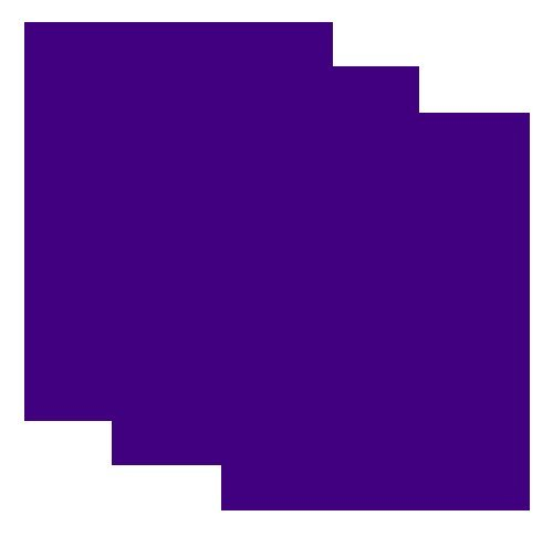 SISER EasyWeed Heat Transfer Vinyl HTV for T-Shirts 12 x 15 Inches 3 Precut Sheets (Purple)