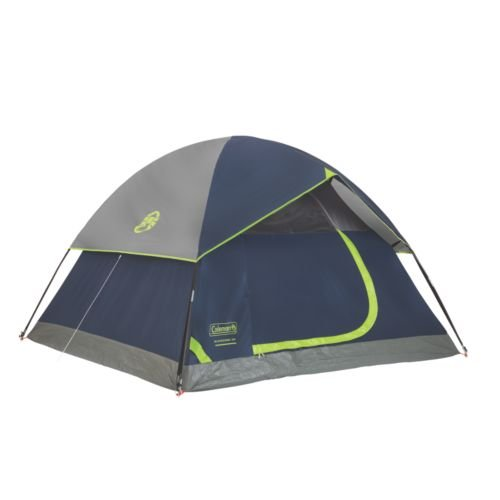Person Dome Tent (Coleman Sundome 4-Person Tent, Navy)