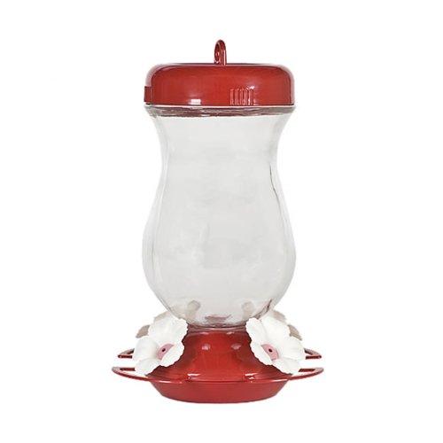 132tf glass fill hummingbird feeder