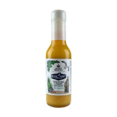 Queen Majesty Blue Point Toasted Lager Hot Sauce (5 fl oz)