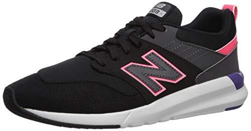 new balance Women's 09v1 Training Shoe Sneaker, Black/Guava, 8.5 M US