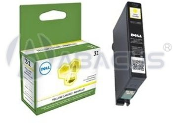 Genuine Dell Series 31 (V525W/V725W) Yellow Ink Cartridge [Office Product]