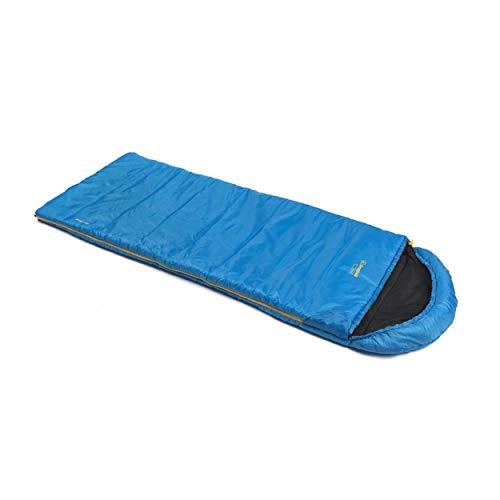 Snugpak Basecamp Navigator Square Quilt Left Hand Zipper Bag, Sapphire Blue - Left Hand Zipper