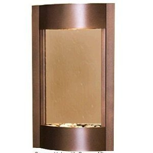 Adagio Serene Waters With Bronze Mirror in Copper Vein Finish Fountain by Adagio Water Features