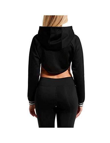 Black Up Varsity Cover Puma shirt T Donna afHw4w
