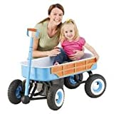 Schwinn Quad Steer Woody Wagon - Light Blue - Steel