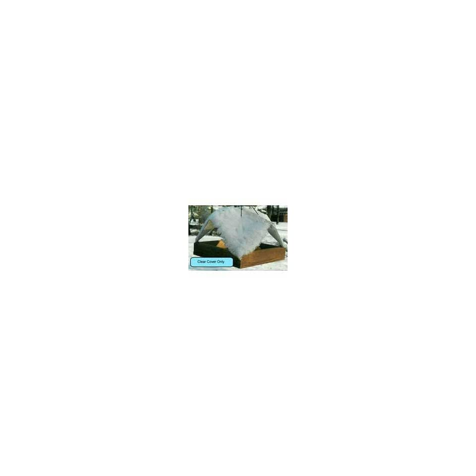 9 x 9 Clear Cover (Bird Feeders) (Seed Feeders
