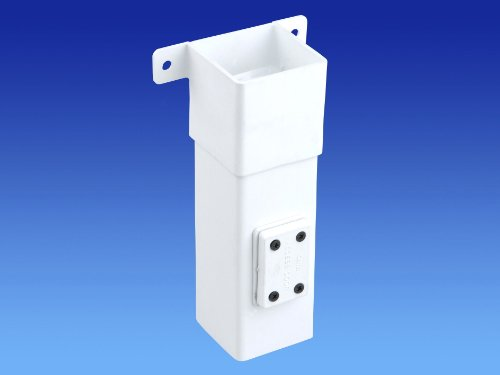 Wavin OSMA 4T825 WHITE Offset Bend / elbow - SOCKET for 61mm