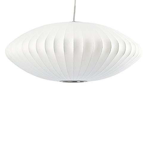 Saucer Lamp George Nelson LargeSaucer Bubble Pendant Lamp Large