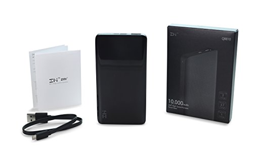 ZMI PowerPack 10K, the Smallest and Lightest 10000mAh Battery Pack Fast Charging Portable Charger Ultra-Compact Power Bank External Battery for iPhone iPad Samsung Galaxy (Phone Cords Sold Separately) by ZMI (Image #8)