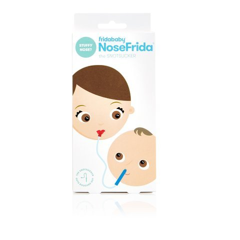 NoseFrida & BreatheFrida | The Fridababy Essential Cold & Flu Set | 2 in 1 Moisturizing Baby Nose Wipes / Tissues and a Nasal Aspirator, the Nose Snot Sucker and Booger Wipes in one Great Set!
