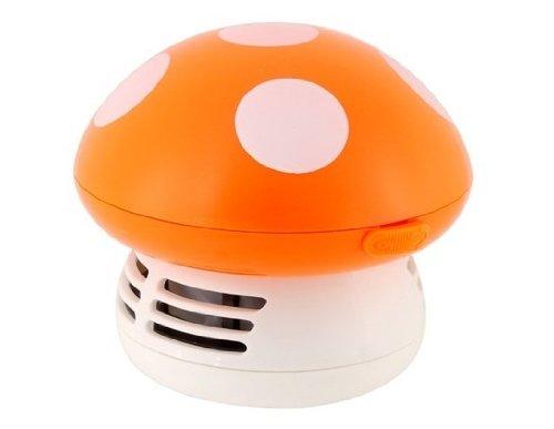 Mushroom Shaped Mini Vacuum Cleaner (Orange) by NOR KMG (Image #5)'