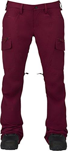 Burton Women's Gloria Pants, Sangria, (Burton Women Snowboard Pants)