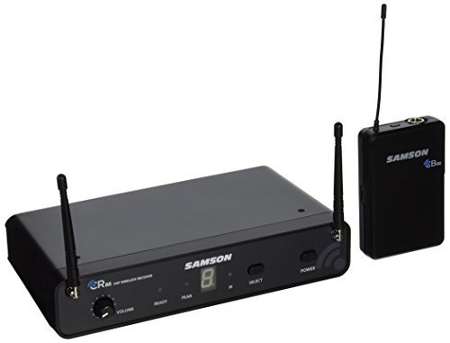 (Samson Concert 88 Guitar 16-Channel True Diversity UHF Wireless System (Channel D))