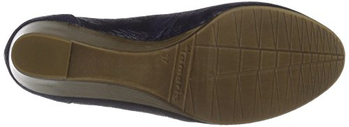 Tamaris Damen 22320 Pumps Blau (NAVY STRUCTURE 855)