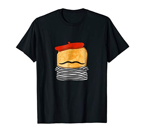 French Toasted Bread Tshirt Funny Pun Easy Halloween Costume]()