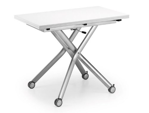 Mesa elevable extensible Flex blanco: Amazon.es: Hogar