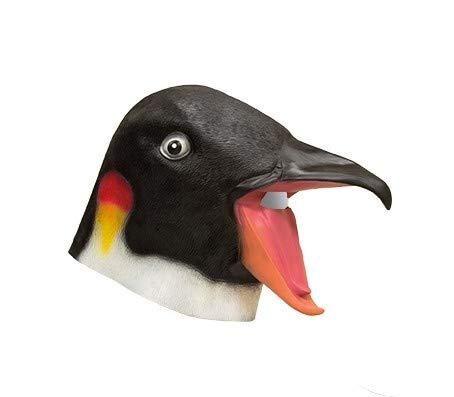 Lotto Set di 3 pezzi - lattice maschera pinguino