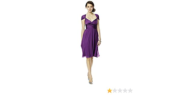 Women S Short Jersey Twist Wrap Dress With Chiffon Overskirt By