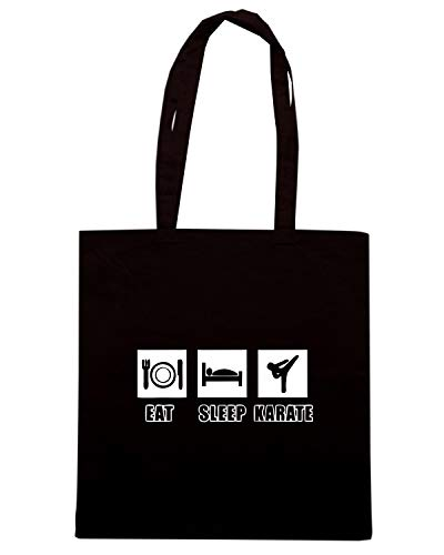 TAM0029 Speed Borsa SLEEP Shopper Shirt EAT Nera KARATE HOODIE wS6zRIq6