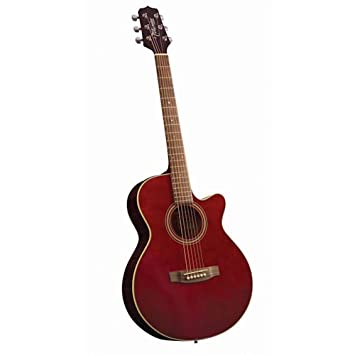 Takamine G Series G260C WR FXC Acoustic Guitar Wine Red