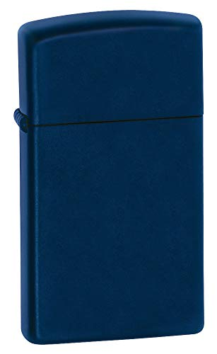 Zippo Slim Navy Matte Pocket Lighter ()