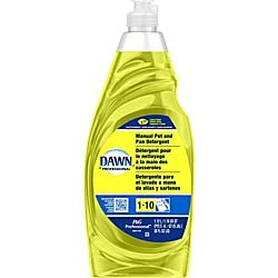 (Dishwashing Liquid Soap Detergent by Dawn Professional, Bulk Degreaser Removes Greasy Foods from Pots, Pans and Dishes in Commercial Restaurant Kitchens, Lemon Scent, 38 oz. (Case of)