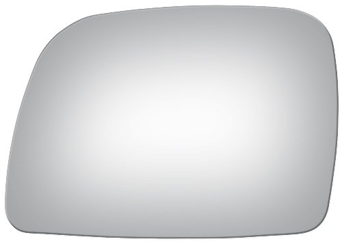 Flat Driver Left Side Replacement Mirror Glass for 1995-1997 Lincoln Town - Car Town Door Mirror Left