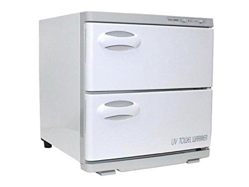 TOA Spa Beauty Salon Equipment UV Light Sterilizer Hot Towel Warmer Cabinet w/Tray 2 in 1 (32S)