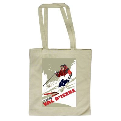 Dave of Ski x 420mm By design Val art247 380mm Illustrator Thompson Shopper D'isere in with Tote Bag 7qUX4S