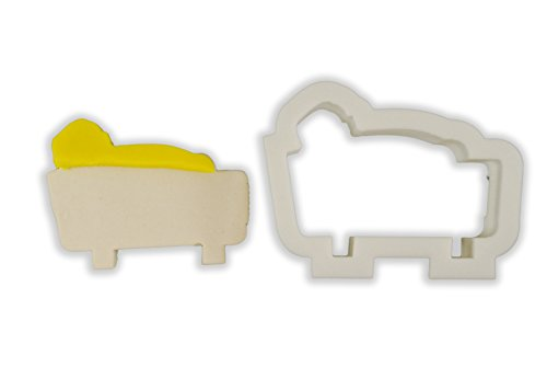 Nativity Baby Jesus Cookie Cutter - LARGE - 4 Inches