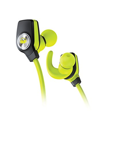 Monster iSport SuperSlim Bluetooth Wireless In-Ear Headphones - Neon Green