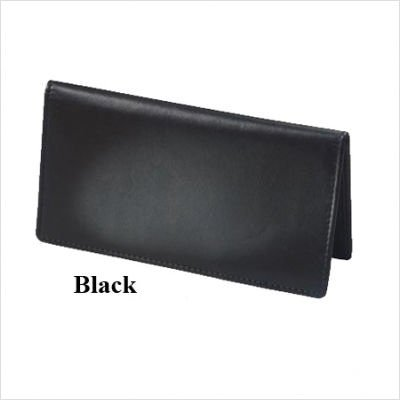 Winn Checkbook Cover Black