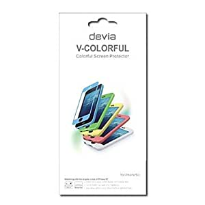DEVIA Vision UV Coated Anti-Glare Screen Protector for iPhone 5C (Assorted Colors) , Blue