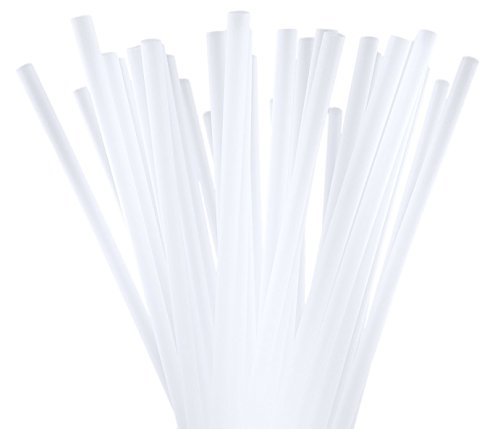 (BAR-TY TIME! (250 Count) 7.75 Inch BPA-Free Plastic Drinking Straws (CLEAR))