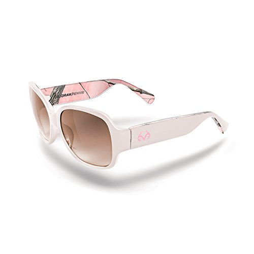 Realtree Draw Lifeblood Sunglasses, Realtree AP Pink Camo Pearl, Gradient - Realtree Camo Pink Sunglasses