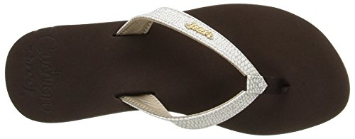 Reef Reef Star Cushion Sassy - Chanclas para mujer Marrón (Brown / White)